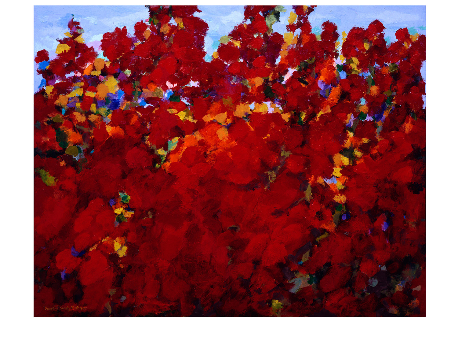 Dorothy Browdy Kushner Red Flowers-2