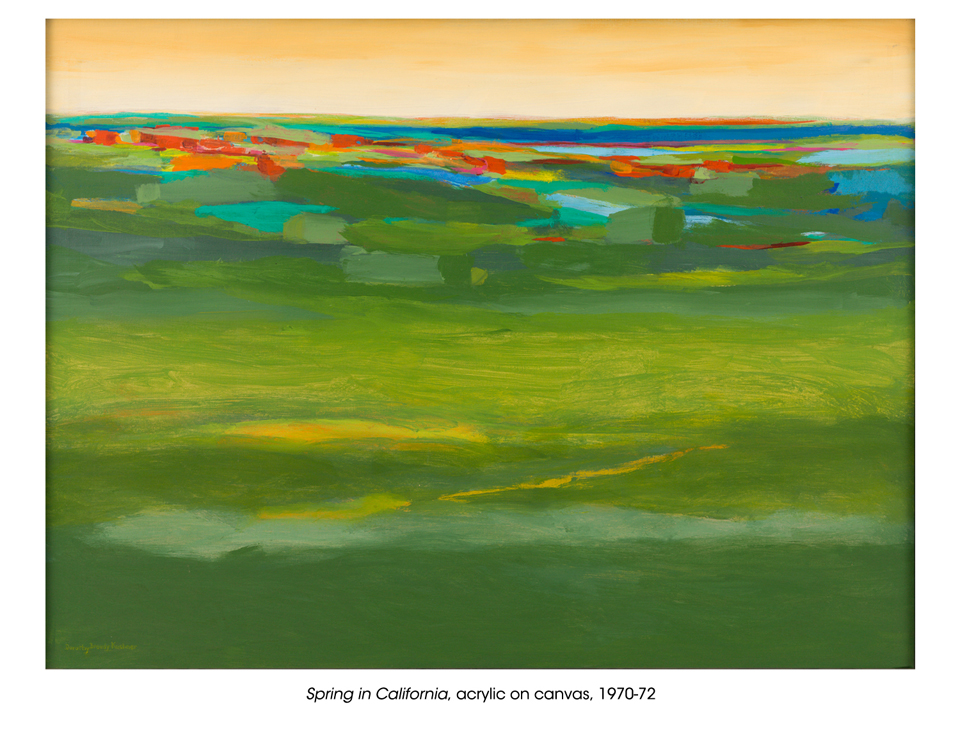 Dorothy Browdy Kushner  Spring in California