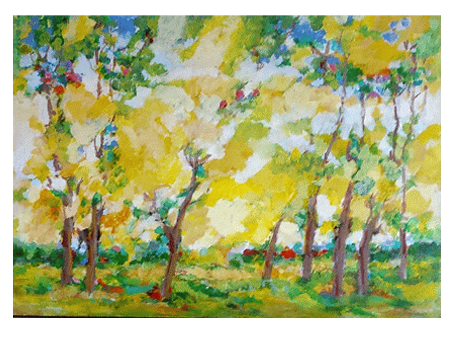 Dorothy-Browdy-Kushner-Yellow-Trees